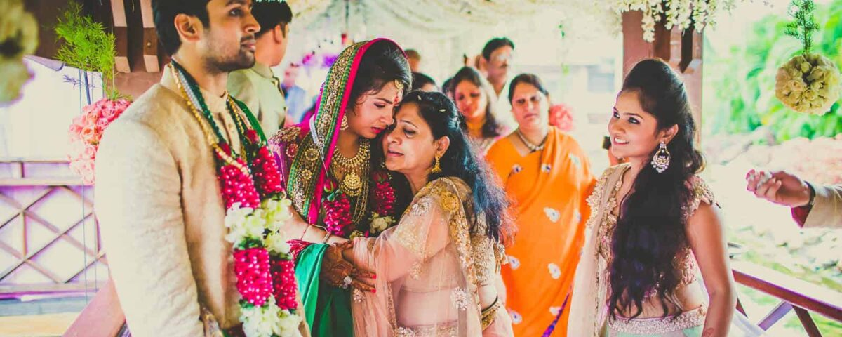 Emotional Thoughts that a family have during the Wedding