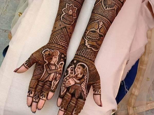 7 Indian Wedding Dresses to Wear Mehendi