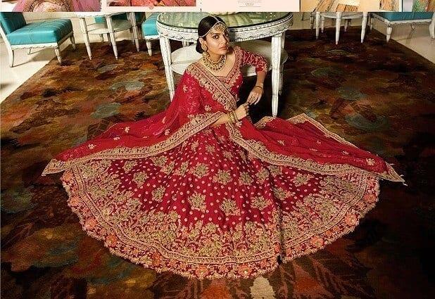 7 Indian Wedding Dresses to Wear , The Royal Bridal Lehenga
