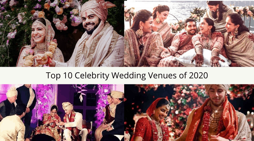 Top 10 Celebrity Wedding Venues of 2020