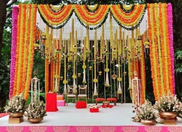 small wedding event