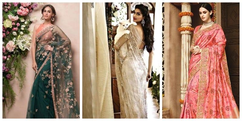 10 reception sarees ideas for bride