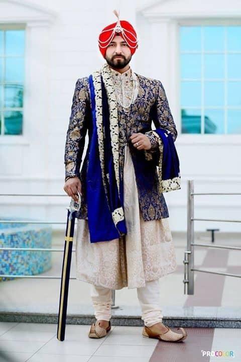 Punjabi sherwani