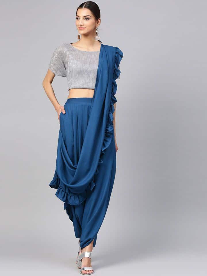 Dhoti Saree