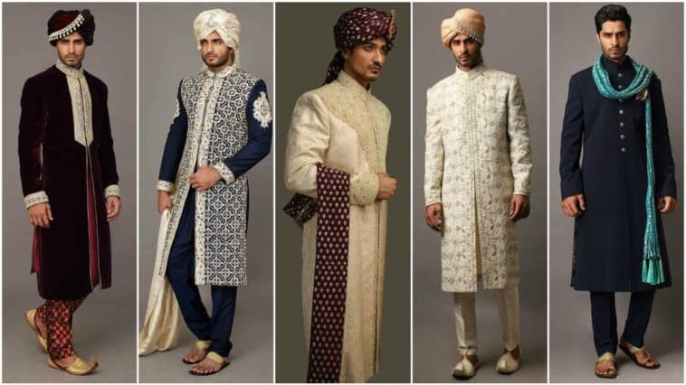 10 latest sherwani suit designs for Grooms
