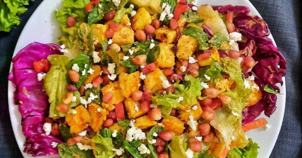 Avoid salads, curd, raw paneer, leafy vegetables