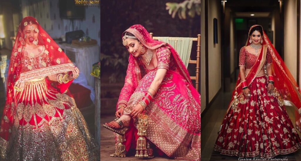 reception sarees ideas for bride