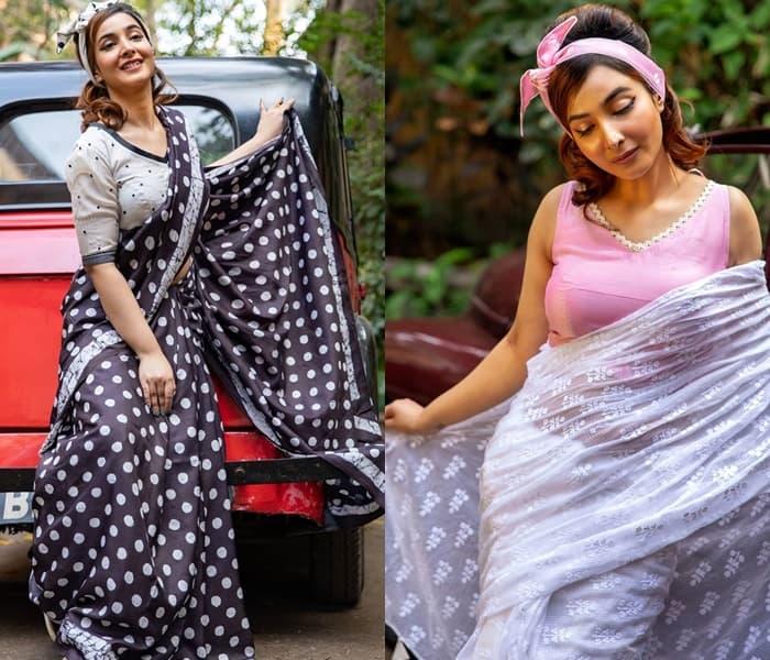 Retro sarees