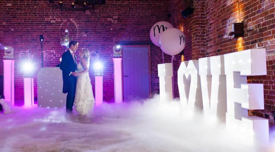 Entertainment in wedding