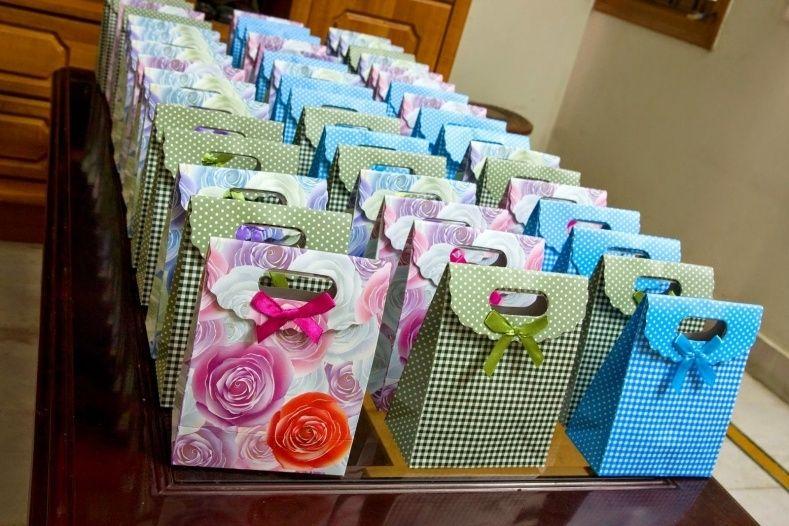 Return Favors in wedding