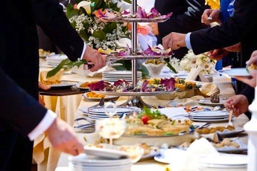 Food in wedding