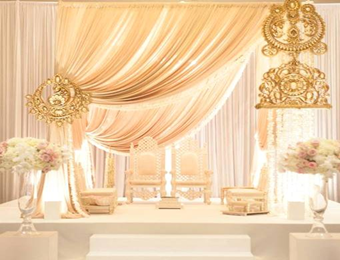 royal wedding decors