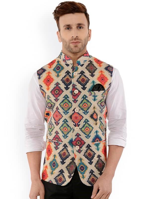 Nehru Jackets - Buy Nehru Jackets Online in India | Myntra