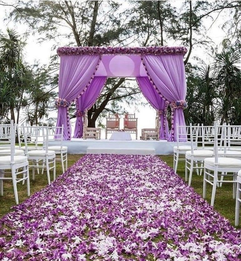 50 Mind-Blowing Ideas to Include Hues of Lilac to Your Wedding!